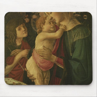 Sandro Botticelli The Madonna and Child with Saint Mousepad