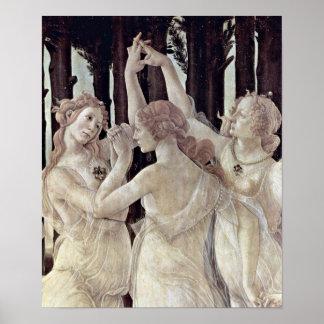 Sandro Botticelli - Three Graces Poster