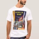 Sands of Mars, by Arthur C. Clarke_Pulp Art T-Shirt