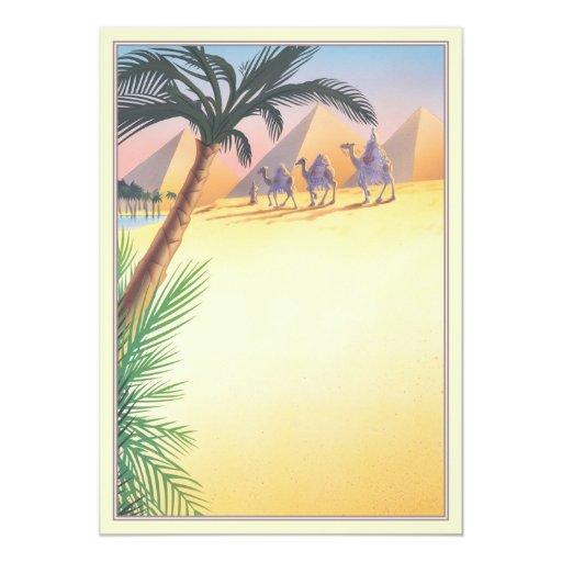 Sands Of The Desert © 5x7 Paper Invitation Card