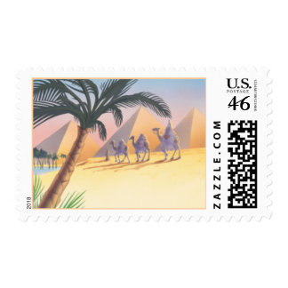 Sands Of The Desert © Postage Stamp