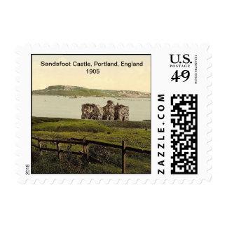 Sandsfoot Castle, Portland, England 1905 Postage