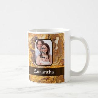Sandstone abstract pattern coffee mug