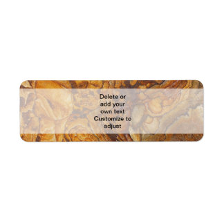 Sandstone abstract pattern label