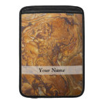 Sandstone abstract pattern sleeve for MacBook air