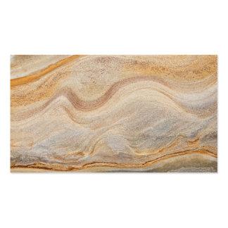 Sandstone Background - Sand, Stone Rock Customized Business Card