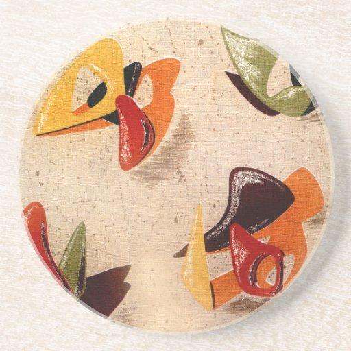 Sandstone Coaster : AMOEBA 1 - COPPER KETTLE