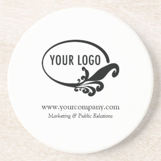 Sandstone Coaster Custom Business Logo Office Gift