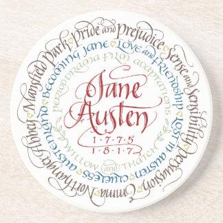 Sandstone Coaster - Jane Austen Period Dramas