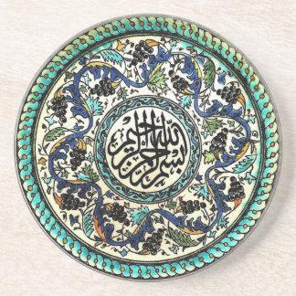 Sandstone Coaster of Turkish Design