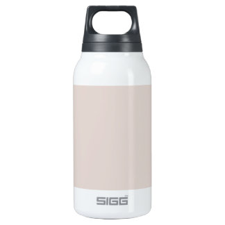 Sandstone Color Only Custom Design Insulated Water Bottle