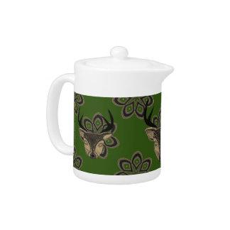 Sandstone Deer Teapot