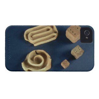 Sandstone dice and terracotta maze game, Harappa, iPhone 4 Case