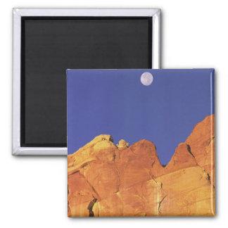 Sandstone escarpment Capitol Reef National Magnet