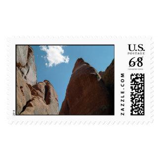 Sandstone Fins Close-Up – Large stamp