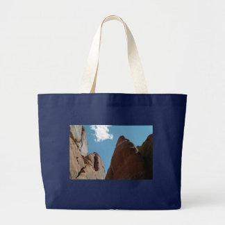 Sandstone Fins Close-Up Large Tote Bag