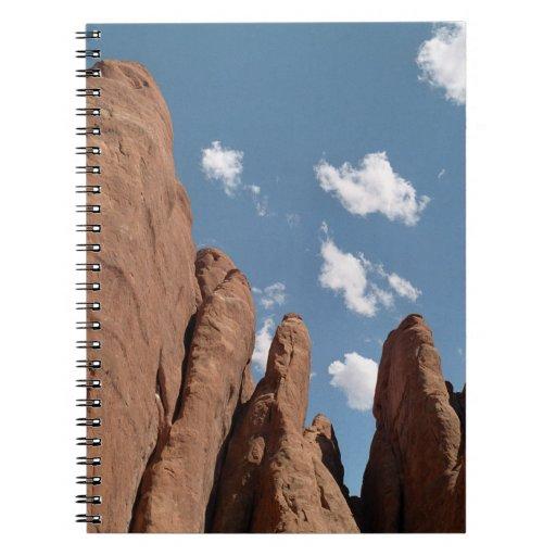Sandstone Fins Spiral Notebook