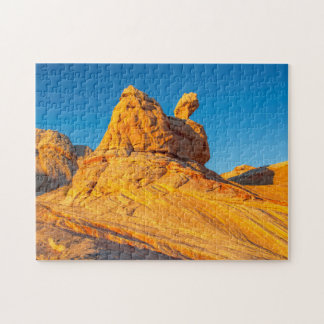 Sandstone Formations At The White Pocket 3 Jigsaw Puzzle