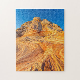 Sandstone Formations At The White Pocket Jigsaw Puzzle