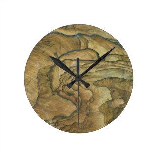 Sandstone Landscape Round Clock
