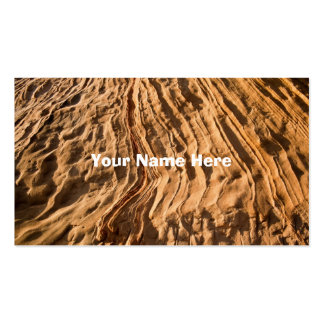 Sandstone Layers Business Card