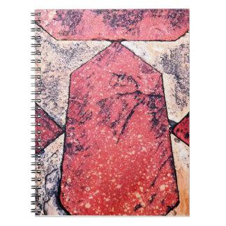 Sandstone & Marble Floor Spiral Notebook