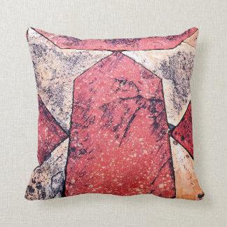 Sandstone & Marble Floor Throw Pillow