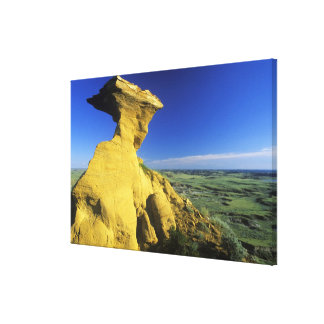 Sandstone Monument in the Hell Creek area near Canvas Prints