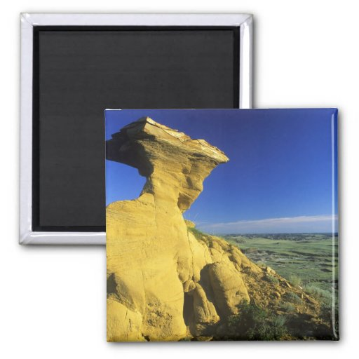 Sandstone Monument in the Hell Creek area near Fridge Magnets