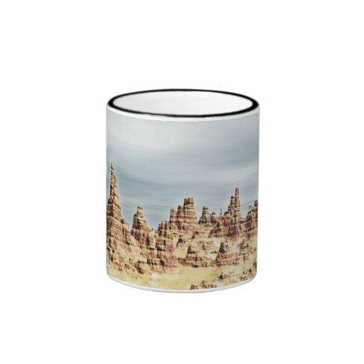Sandstone Mountains Coffee Mugs