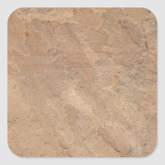 sandstone pattern square sticker