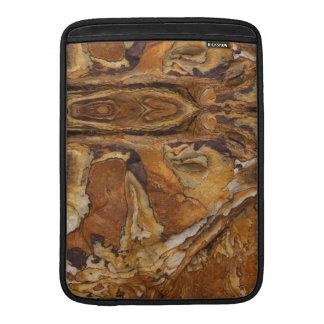 sandstone rock pattern MacBook sleeve