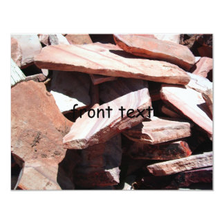 Sandstone Slates 4.25x5.5 Paper Invitation Card