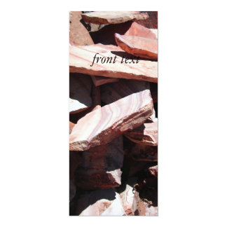 Sandstone Slates 4x9.25 Paper Invitation Card