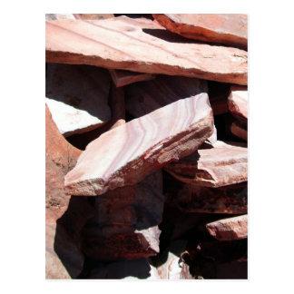 Sandstone Slates Postcard