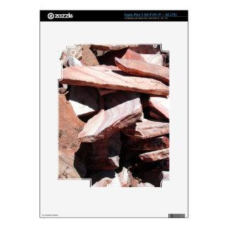 Sandstone Slates Decals For iPad 3