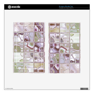 SandStone soft mosaic glass skin for readers Kindle Fire Skins