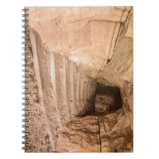 Sandstone Staircase In Abandoned Cave Dwelling Notebook