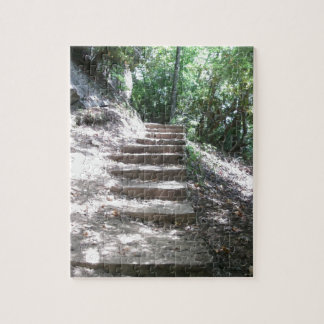Sandstone Stairs Jigsaw Puzzle