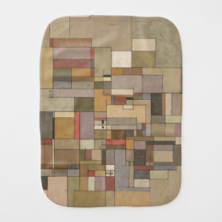 Sandstone Stata Abstract Art Burp Cloth