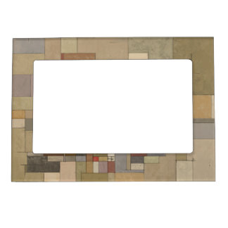 Sandstone Stata Abstract Art Magnetic Frame