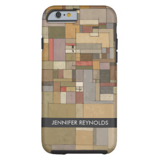 Sandstone Strata Abstract Art iPhone 6 case -Tough