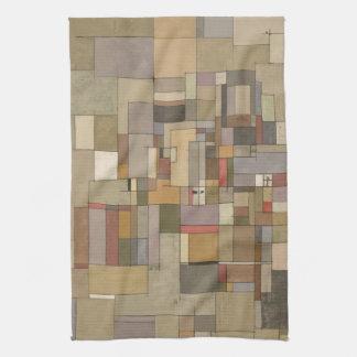 Sandstone Strata Abstract Art Kitchen Towel