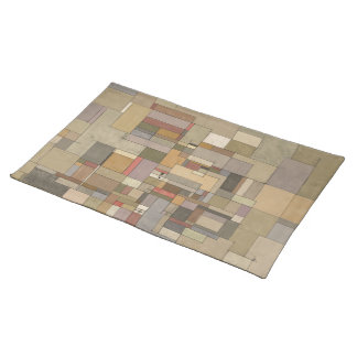 Sandstone Strata Abstract Art Placemat