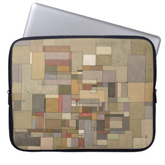 Sandstone Strata Abstract Painting Laptop Sleeve