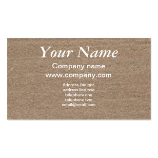 Sandstone texture business card