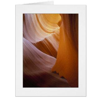 """""""Sandstone Vortex"""" Card"""