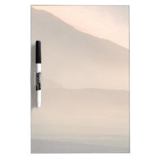 Sandstorm at Mesquite Sand Dunes, Sunset Dry Erase Board