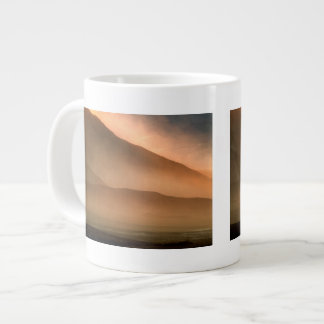 Sandstorm at Mesquite Sand Dunes, Sunset Giant Coffee Mug