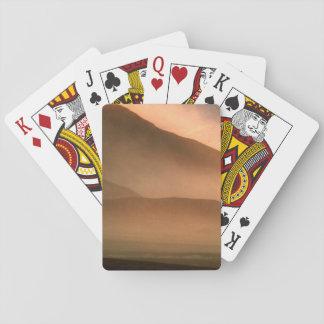 Sandstorm at Mesquite Sand Dunes, Sunset Poker Cards